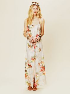 Free People Maxi Print Dress, $378.00