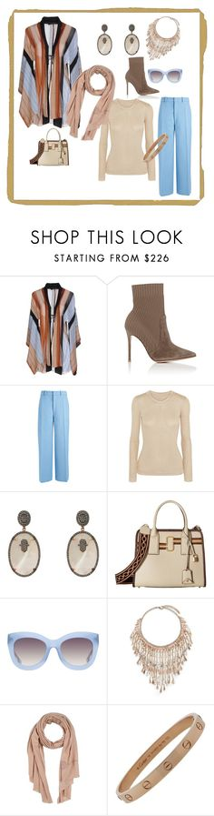 """Untitled #803"" by blumbeeno on Polyvore featuring Fisico, Gianvito Rossi, Joseph, Emilia Wickstead, Latelita, Marc Jacobs, Alice + Olivia, Rosantica, Ermanno Scervino and Cartier"