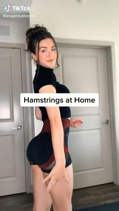 Gym Workout Videos, Gym Workout For Beginners, Butt Workout, Gym Workouts, At Home Workouts, Hamstring Workout, Exercise Apps, Song Workouts, Morning Workouts