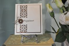 CRAFTING MY STYLE with Sue Wilson: Need a quick card, but one that is elegant and still makes a statement? This is a video for you to watch! This is a very easy and simple card to make and Sue is excited to show you how to do it...follow the link to watch the video. http://particraft.blogspot.co.uk/2014/06/clean-simple.html