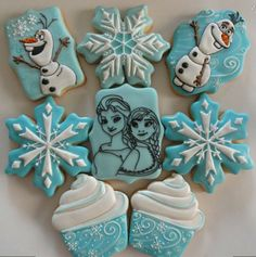 Disney Frozen cookies