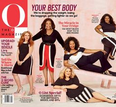 Our April issue is out and Oprah Winfrey is sharing the cover with readers for the very first time. Follow us as we share the stories of real women who have struggled with weight. Together, we're getting healthy for the long haul — and celebrating our best bodies.
