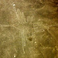 8.7.14 New Nazca Lines Found in Peruvian Desert - In the Southwest Peruvian desert, new Nazca lines -- enormous geometric figures of animals such as snakes and birds -- have been exposed after a sandstorm.