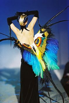 Thierry Mugler Couturissime: first exhibition dedicated to Manfred Thierry Mugler Kunsthal, Rotterdam. - Mugler