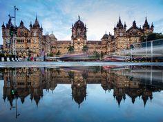 Chhatrapati Shivaji Maharaj Terminus, Mumbai, India  Robert Harding Picture Library / SuperStock