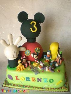Torta Mickey Mouse y sus amigos