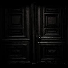 »✿❤Black❤✿« Black doorway