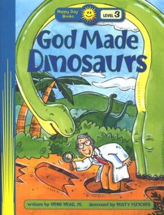 Happy Day Books, Level 3: God Made Dinosaurs