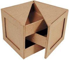 cardboard furniture design cool portarretratos joyero victor of cardboard furniture design Cardboard Furniture, Cardboard Crafts, Wood Crafts, Diy Furniture, Furniture Design, Cardboard Playhouse, Furniture Styles, Origami Design, Woodworking Plans