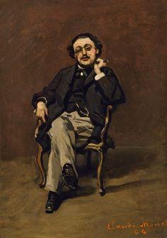 Portrait d'homme assis (C Monet - W 43)