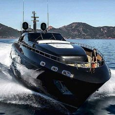 Black Pearl, the luxury yacht owned by Stefan Franić before he was taken down. Now called Government Seizure Lux Yachts, Yacht Luxury, Luxury Yacht Interior, Luxury Travel, Yacht Design, Boat Design, Super Yachts, Yatch Boat, Bateau Yacht