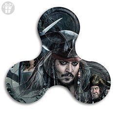 Fidget Spinner Pirates Of The Caribbean Dead Men Tell No Tales Stress Reducer Relief Toys Perfect For ADHD EDC ADD Anxiety Autism And Boredom - Fidget spinner (*Amazon Partner-Link)