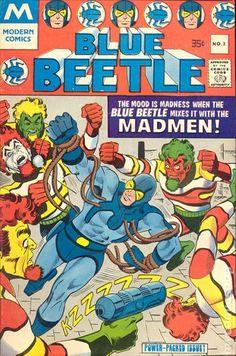 Blue Beetle (1977 Modern) 3