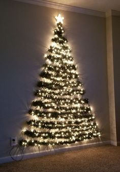 36 Diy Wall Christmas Tree Ideas, # Ideas Tree Informations About 36 Diy Wall Weihnachtsbaum Ideen – Chritmas Pin Wall Christmas Tree, Noel Christmas, Outdoor Christmas, Christmas Ornaments, Christmas Tree Made Of Lights, Winter Christmas, Chritmas Diy, Chrismas Tree Diy, Ideas For Christmas Trees