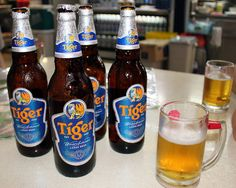 Tiger beer at the Newton Hawkers Centre | Flickr - Photo Sharing!