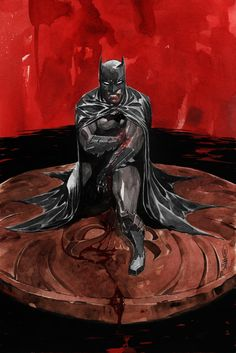 """A Variant cover to """"Batman"""" #7 by artist Dustin Nguyen."""