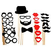 Grappig Mask Beard Wedding Party Fotografie P... – EUR € 12.37