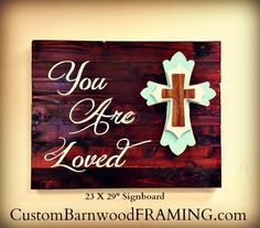 custom barnwood frames sign you are loved 6999 http