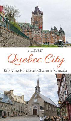 travelyesplease.com | 2 Days in Quebec City- Enjoying European Charm in Canada (Blog Post) | Quebec, Canada