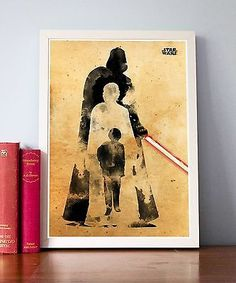 Star Wars Anakin Skywalker Become Darth Vader Watercolor Style Movie Poster | Remember This? (A tribute to the 90s and before) [group board] | Pinterest | Wate…