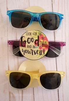 Girls Camp Sunglasses Pillow Treats