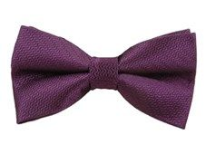 Bow Ties - STATIC SOLID - PLUM