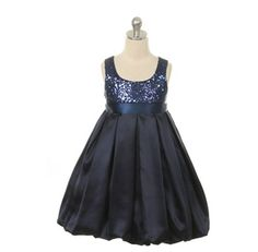 gorgeous for the flower girls, NAVY OR SILVER!