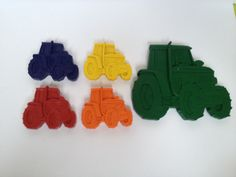 Handmade non-toxic novelty crayons.  www.facebook.com/isquiggle