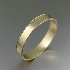 Handmade Hammered Nu Gold Bangle http://www.johnsbrana.com/hammered-nu-gold-bangle-bracelet-1084.html  $65.00 #HandmadeBangles #GoldBangleBracelets