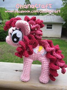 Ravelry: Pinkie Pie Amigurumi Crochet PDF pattern pattern by ohana craft