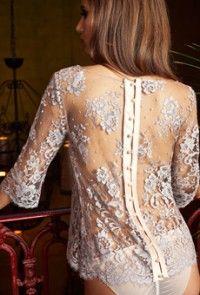 Les Jupons de Tess lace blouse