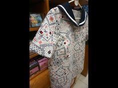 清秀佳人布坊 - 手作教學 - 袖子與上衣縫合的作法 - YouTube