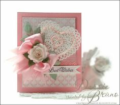 Dotted Fronds Background Cling Stamps