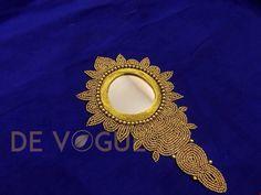 Designer Kerala Saree Blouse. Handwork. Jimmiki Kammal