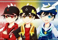 Cartoon and Disney Anime - Boboiboy Anime Galaxy, Boboiboy Galaxy, Boboiboy Anime, All Falls Down, Original Wallpaper, Cartoon Movies, Doraemon, Thunderstorms, Overwatch