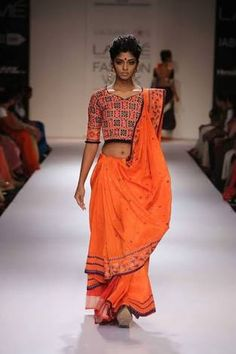 new silk sarees collection on lakme fashion week - Google Search