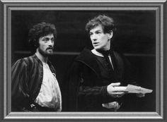 1976 - Ian McKellen as Romeo, with Roger Rees as Benvolio in 'Romeo and Juliet' @ the RSC. Dir. Trevor Nunn