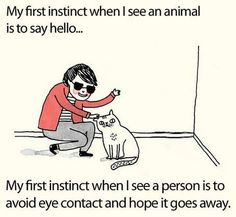 Introvert humor...but also so very, very true.