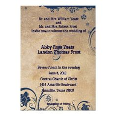 See MoreShabby Blue Lace and Parchment Wedding Invitationslowest price for you. In addition you can compare price with another store and read helpful reviews. Buy