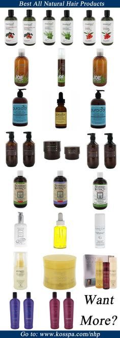 Best All Natural Hair Products. Top Organic Hair Products. #hairproducts #hair