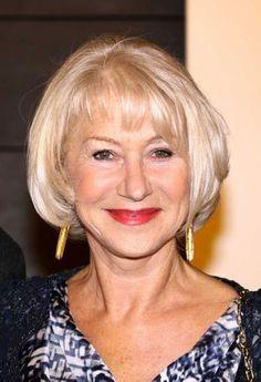 Blonde Bob Hairstyles for Older Women