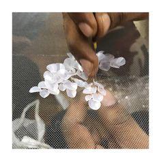 MY BEADERS MAKE MY FANTASIES INTO REALITY #embroidery #handmade #beads #sequins #highfashion #dress #brides #truestory #making #story #creation #make #myorstudio #myorbrides @evyatar_myor @myor_brides