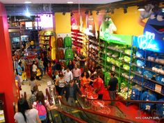 m&m's store times square manhattan food nyccrazygirl