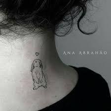 Resultado de imagem para tatuagem de coelho