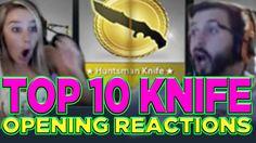 Top 10 CS: GO Knife Opening Reactions Dragon King, Counter, Geek Stuff, Games, Top, Geek Things, Gaming, Plays, Crop Shirt