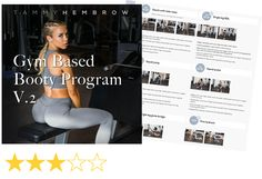 Tammy Hembrow seems like a really nice person her workout program just isn't for me. Here's what I really think and the alternative that's working for me.