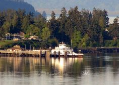 Catching the Steilacoom ferry to Anderson Island     Photo Credit- Ann D'Angelo Photoart