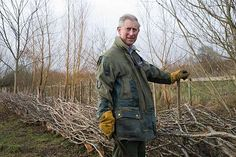 Prince Charles and that Barbour. Featured on Country File, via Grey Fox blog.