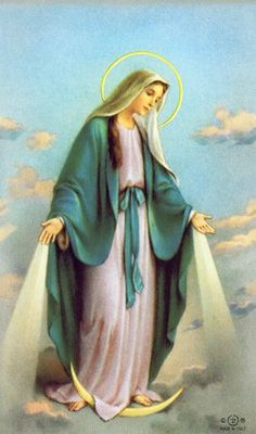 Our Lady of Grace Custom Prayer Card