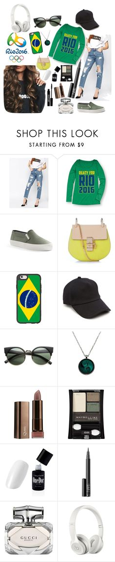 """Rio 2016"" by alinesantos16 ❤ liked on Polyvore featuring ASOS, Festuvius, Lands' End, Chloé, Casetify, rag & bone, ZeroUV, Maybelline, NARS Cosmetics and Lord & Berry"